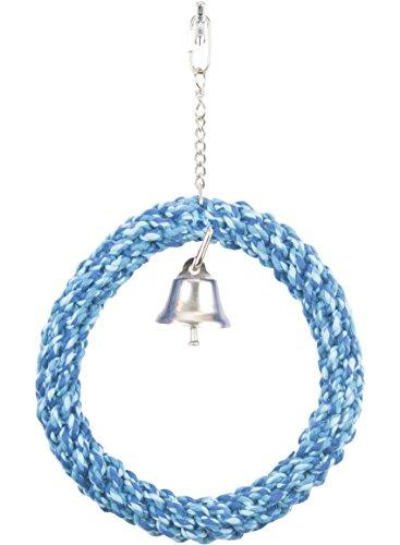 (Penn Plax Braided Rope Swing - Size Medium - Color Blue)