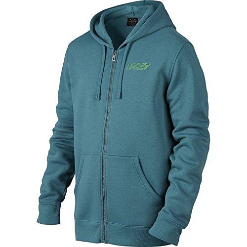 Oakley Men's O-Jupiter Fleece Sweatshirt Chino Blue Sweatshirt - Oakley Blue Jupiter