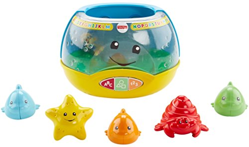41M5txOYNyL - Fisher-Price Laugh & Learn Magical Lights Fishbowl