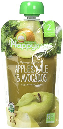 Happy Baby Stage Apples Avocados