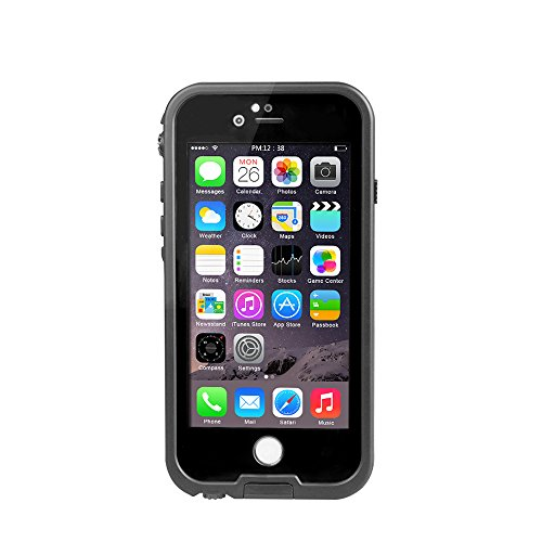 iPhone 6s Plus Waterproof Case, Underwater Full Sealed Cover Snowproof Shockproof Dirtproof IP68 Certified Waterproof Case for 6s Plus …