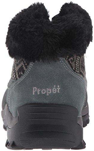 Aztec Knit Ankle Boot Ii Propet Blizzard Zip Black Women's Winter qz68OT