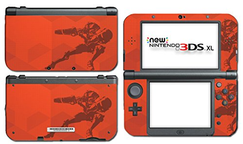 Samus Returns Metroid 2 Special Shell Video Game Vinyl Decal Skin Sticker Cover For The New Nintendo 3Ds Xl Ll 2015 System Console