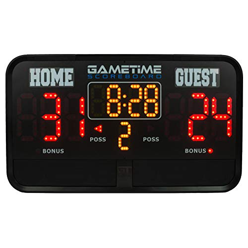 Gametime Multisport Portable Indoor/Outdoor Scoreboard & Audio Player