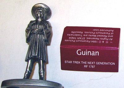 Star Trek Rawcliffe Pewter Figure Next Generation TNG Guinan