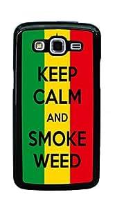 Hard Case for Samsung Galaxy Grand 2 G7105 G7106 (Marijuana Kush Weed)