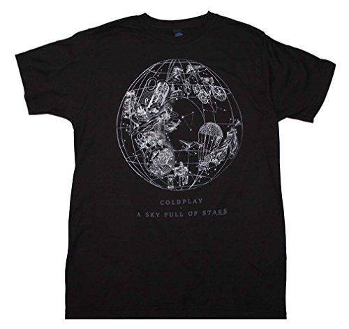Live Nation Coldplay Sky Full Of Stars T Shirt Medium