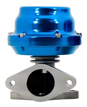 TiAL F38 Wastegate - 5.80 psi/0.40 bar (sm. red) spring, Blue Body ()