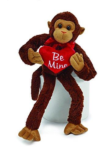 Plush Valentine Spider Monkey ()