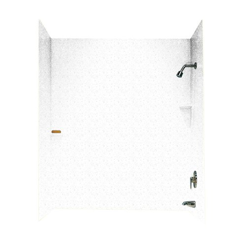Swanstone SS-60-3-035 Solid Surface Bathtub Wall Panel Sy...