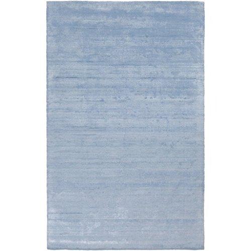 Amazon.com: 4 x 6 indio de seda azul cielo tejida a mano ...