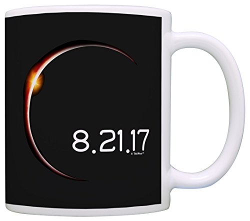 Solar Eclipse Mug Total Solar Eclipse 2017 Solar Eclipse Gifts Science Gift Coffee Mug Tea Cup Black by ThisWear