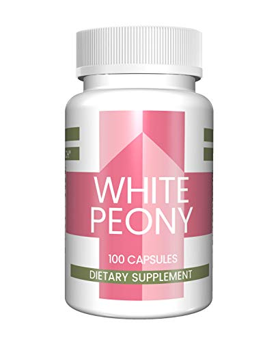 (White Peony Root Capsules (100 Capsules, 380 mg per Serving) (1 Capsule/Serving) by Pure Organic Ingredients, All-Natural, Supports Strong Immunity*, Healthy Digestion*, and Overall Good Health)