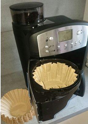 400x kleine Kaffee-Korbfilter braun 80//200 Filter f/ür K-Maschinen mit Mahlwerk wie Beem etc.