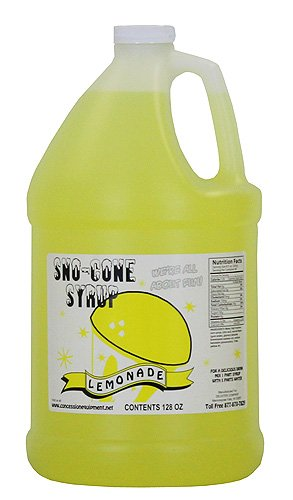 (Concession Express Snow Cone Syrup 1 Gallon (Lemonade))