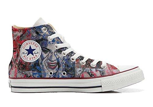 Customized Star personalisierte Handwerk Hi Converse Converse Occhi Schuhe All Schuhe qva5xt