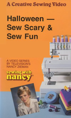 [Sewing with Nancy: Halloween - Sew Scary & Sew Fun [VHS]] (The Craft Nancy Costume)