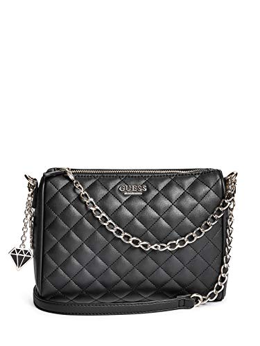 GUESS Factory Womens Marisol Quilted Crossbody