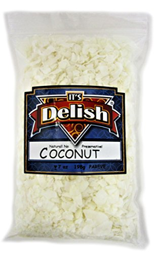 Coconut Chips All Natural, Raw, Unsweetened, by Its Delish, 5 lbs (Cheap As Chips Halloween)