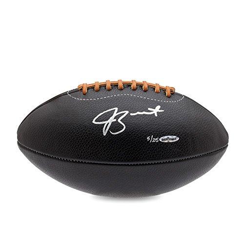 JAMEIS WINSTON Autographed Black Leather Head Football UDA LE 25