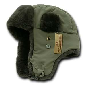 Rapiddominance Aviator Hats, Olive, Small/Medium