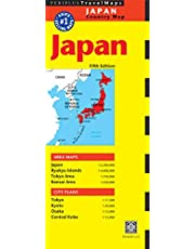 Japan Travel Map Fifth Edition