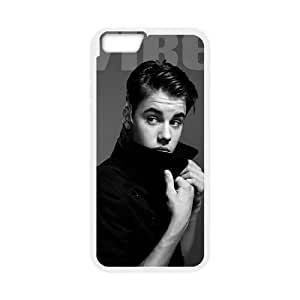 Justin Bieber Customized Cover Case with Hard Shell Protection for Iphone6 4.7