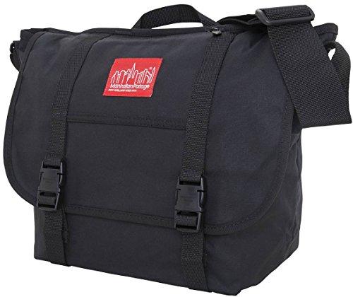 mensajero lona bolsa de Encerado Manhattan Negro Portage la de U5pgHw
