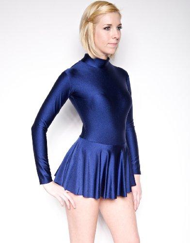 NawtyFox Navy Blue Ice Skating Dress