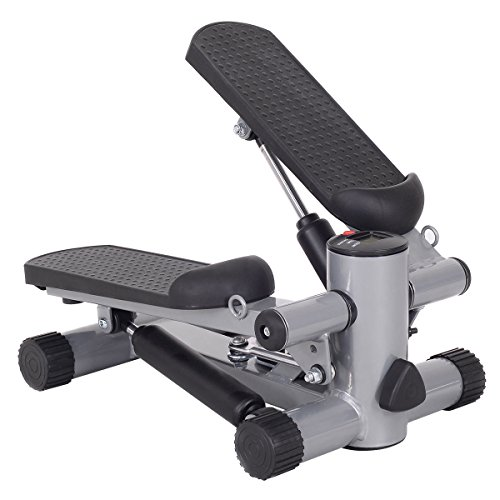 Goplus Aerobic Fitness Step Air Climber Stepper Twist Exercise Machine