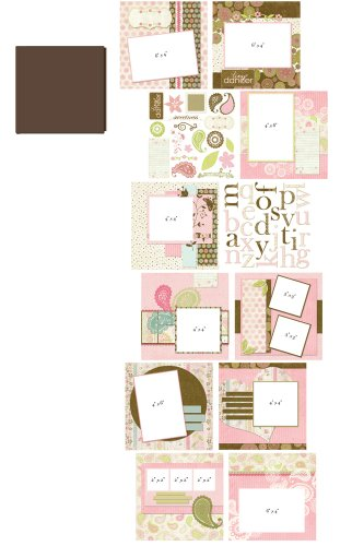 Provo Craft 8-Inch by 8-Inch Your Story Album Kit, Girl