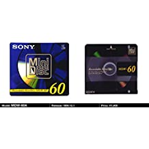 Sony Digital Audio Mini Disc 60Min 1-Pack (Discontinued by Manufacturer)