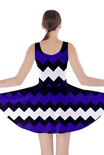 CowCow - Vestido - para mujer Indigo and Purple