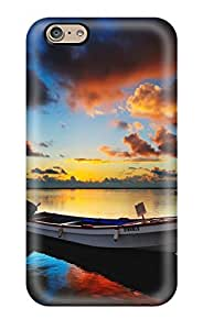 New Snap-on CaseyKBrown Skin Case Cover Compatible With Iphone 6- Sunrise Hdr