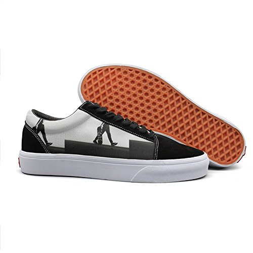 Armsttm Women Skate Shoes black and white Skateboarder Class