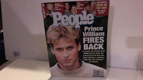 People Weekly Magazine - 16 October 2000 - 'Prince William Fires Back'