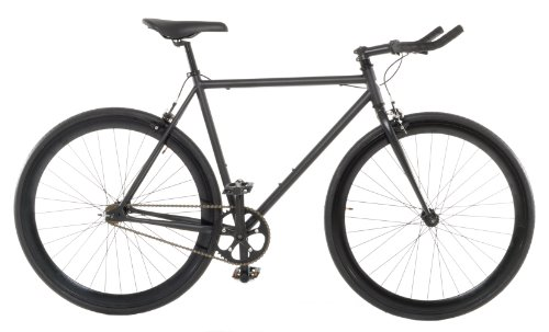 Vilano Edge Fixed Gear Single Speed Bike, Medium, Matte Black