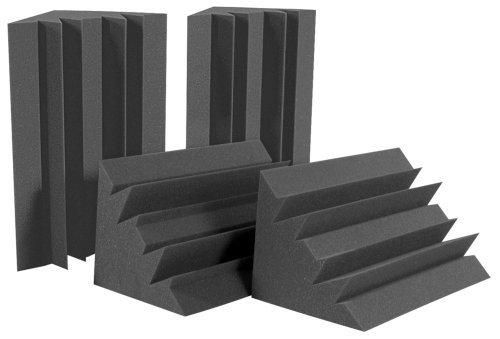 (Auralex LENRD Bass Traps - 4-pack - Charcoal)