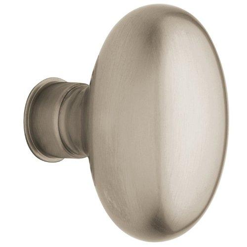 Baldwin Oval Door Knob - Baldwin Hardware 5025.150.MR Estate Oval Knob Indoor Door Handle