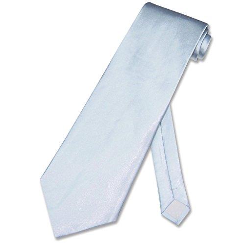 - Covona NeckTie Solid Baby BLUE Sky Blue Color Men's Neck Tie