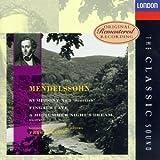 Mendelssohn: Symphony 3; Midsummer Night's Dream Op61; Hebrides Overture Op26 / Peter Maag; LSO