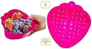 Evriholder FreshFare Berry Colander- Pink