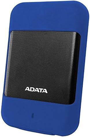 ADATA ポータブルHDD 1TB 2.5インチ USB3.1対応 Mac対応 IP56 防塵 防水 耐衝撃 Gショックセンサー搭載 3年保証 ブルー AHD700-1TU31-CBL