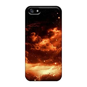 Kristyjoy99 Iphone 5/5s Hybrid Cases Covers Bumper Space Clouds
