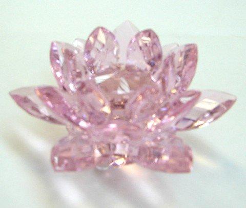 Rose Crystal Lotus