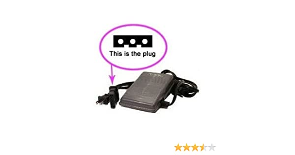 Sewing Machine Foot Control Pedal Cord J40 Amazonca Home Enchanting Shark 612c Sewing Machine Review