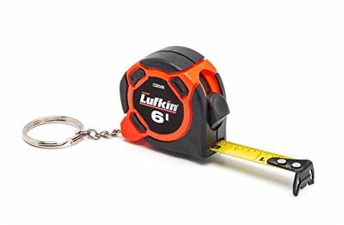 Lufkin CS8506MP 6' Mini Keychain Tape,, (Lufkin Tape)