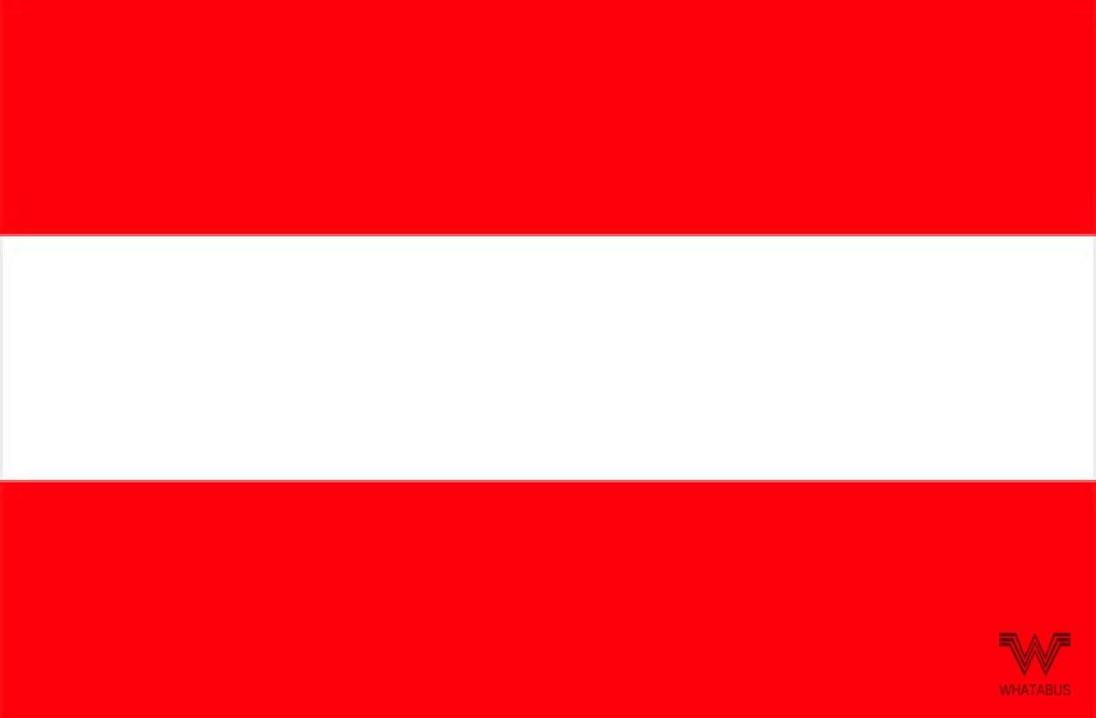 Whatabus Österreich Flagge Aufkleber Länderflagge Als Sticker 8 5 X 5 5 Cm Auto