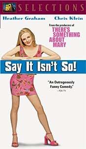 Say It Isn't So / Fox Selections [VHS]
