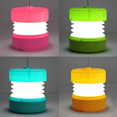 Outdoor Charged Portable 16-LED Tensile Tent Lamp Camping Lantern.